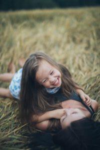 Natürliches Lächeln